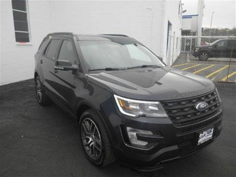 New 2017 Ford Explorer Sport 4WD