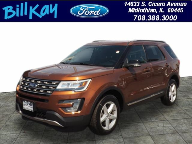 Pre Owned 2017 Ford Explorer Xlt 4d Sport Utility In Midlothian