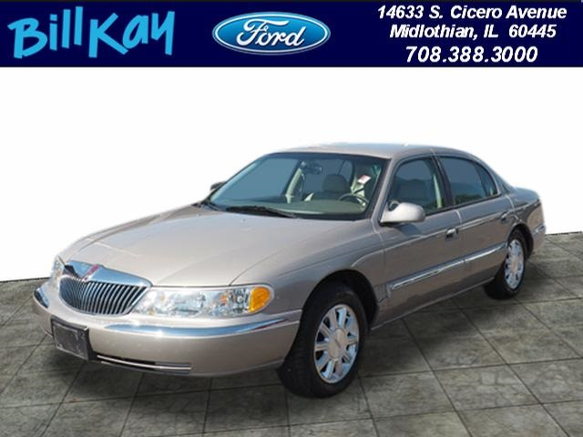 Pre-Owned 2000 Lincoln Continental Base 4D Sedan in Midlothian ...
